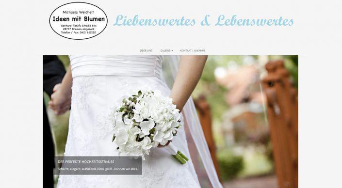 Blumen für alle Anlässe, Hochzeit, Trauer, Muttertag und Co