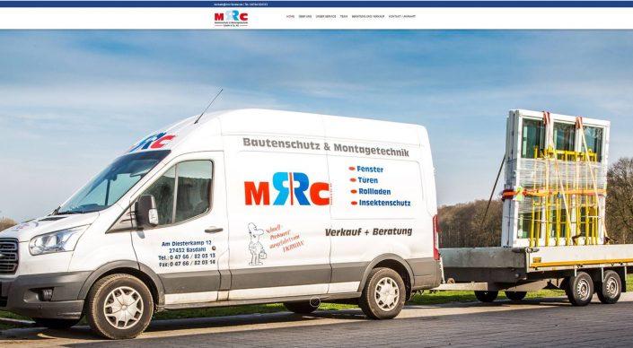 Webseitentexte für Bautenschutz und Montagetechnik MRC Fenster