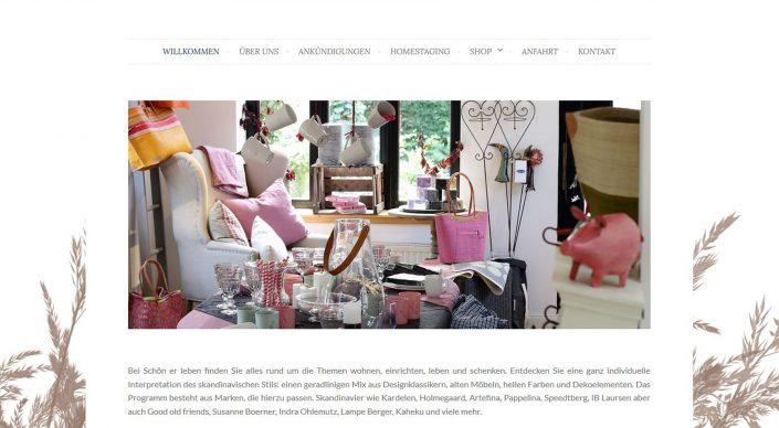 Webseitentexte für das Schn-er-leben - Dekoration und Living Einrichten und Wohnen