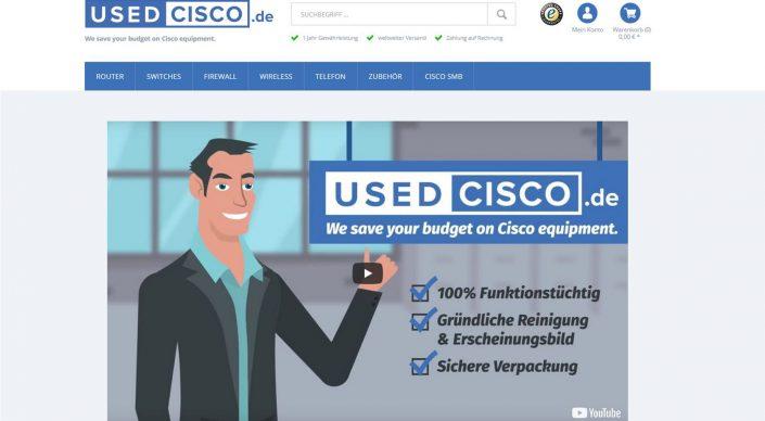 Suchmaschinenoptimierte SEO-Texte für Used Cisco