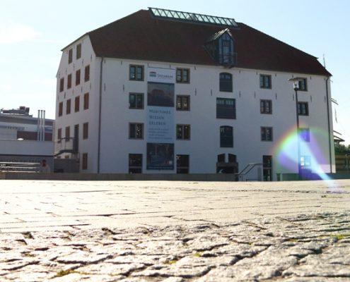 Im hafenspeicher direkt am vegesacker Haven befindet sich ein interaktives Museum, in der Schauspieler die Geschichte Vegesacks nachstellen
