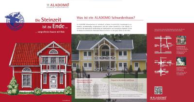 Werbetext muss informieren: So wie im Katalog der Aladomo Schwedenhäuser