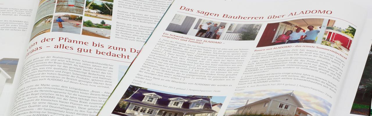Werbetexte und Kataloge Wortcatcher Texter in Bremen