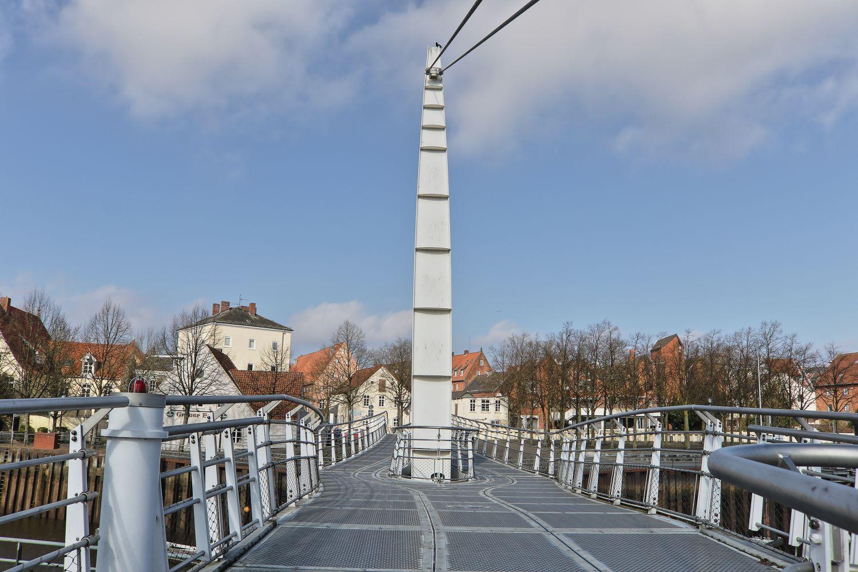 Brücke im Hafen Vegesack