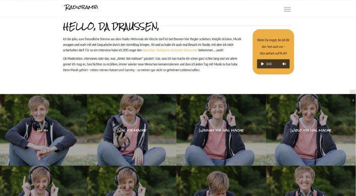 radiobambi - Moderatorin bei Radio Bremen Vier