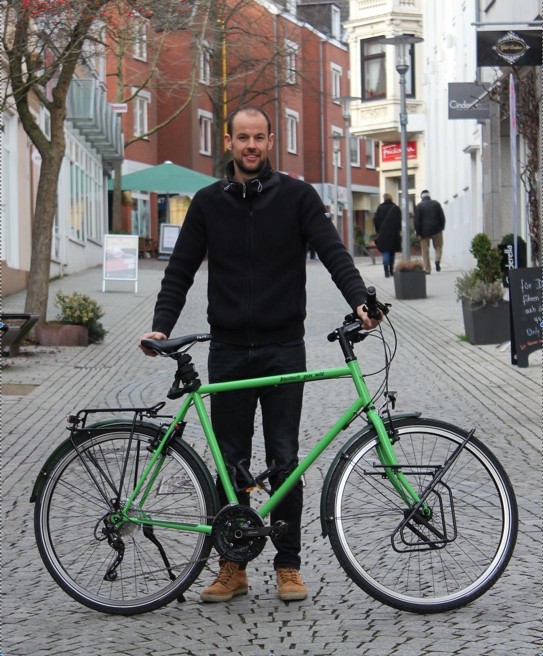 Chrostoph Nordmeier startete im Februar 2018 zu einer Reise um die Welt